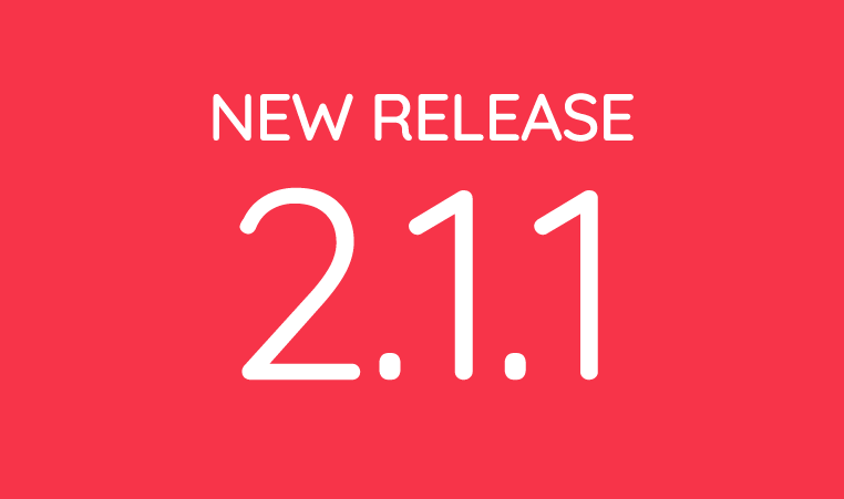 New Release 2.1.1